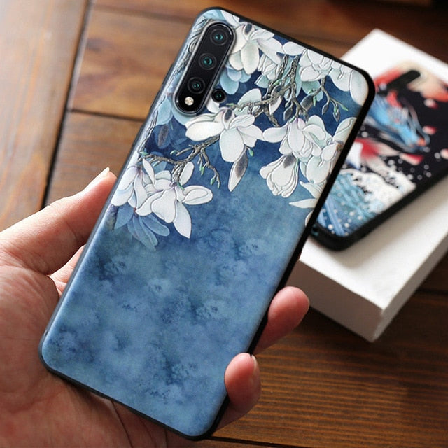 The Wave 3D Phone Case For iPhone 11 Pro Max Cute Arty Creative Cover For iPhone 7 8 6s 6 s Plus Case For iPhone SE 2020 X XR XS Max 5 s 5s se Cases