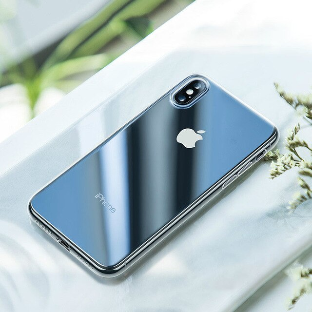 Luxury Tough Transparent Glass Silicon Phone Case For iPhone 12 11 Pro XS MAX XR X SE Clear Tempered Glass Soft Edge Phone Case For iPhone 12 Pro Max