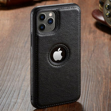 Load image into Gallery viewer, Luxury Vintage Leather Wallet Case For iPhone 11 11 Pro 11 Pro Max Case PU Leather Magnetic Flip Cover Business Case for iPhone 12 Pro Max XR X 8 7 6 6S