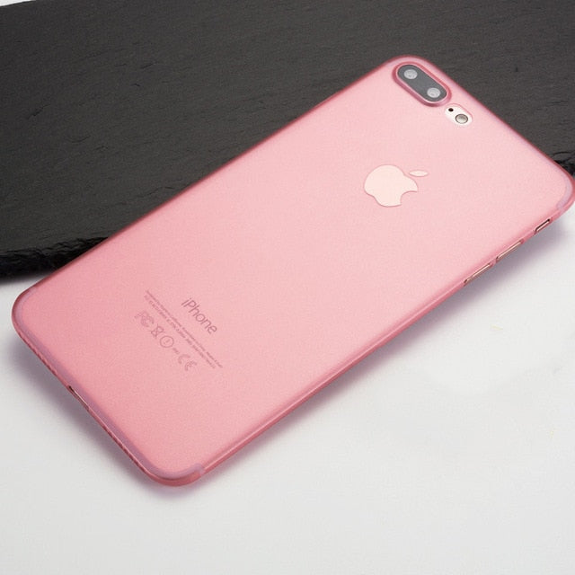 Cover iPhone 6/6S Plus Ultra-Slim 0.3 Pink  Phone covers  Cases