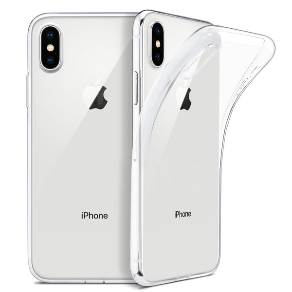 "Ultra Slim Transparent Fitted Case For iPhone Soft TPU Clear Protective Cover For Apple 5.8"" iPhone X / iPhone 10 (2017 Release) iPhone 8 7 6 S Plus"