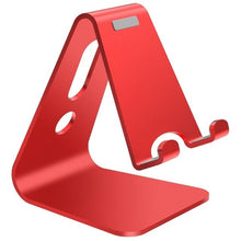 Load image into Gallery viewer, Aluminium Alloy Mobile Phone Holder iPad Stand Metal Tablet Stand Universal Holder for iPhone X/8/7/6/5 Plus iPhone / iPad