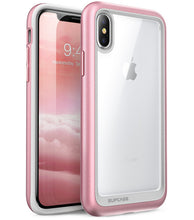 Load image into Gallery viewer, Premium Hybrid Case For iPhone X XS Anti Shock TPU Bumper + Protective PC Scratch Resistant Clear Back Cover Case For iPhone X Xs 5.8 inch