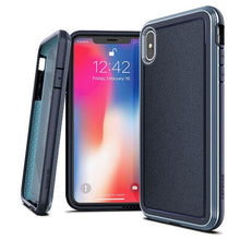 Load image into Gallery viewer, Stylish And Slim iPhone Case With Military Grade Drop-Protection Defense System Ultra Hybrid Aluminium Framed Phone Case For iPhone XR XS Max