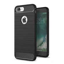 Load image into Gallery viewer, Ultra Thin Carbon Fiber Effect Case for iPhone X XR XS 5S SE 5 6 6S 7 8 Plus Soft Rubber Silicone Protective Anti-Knock Back Cover for iPhone XS MAX