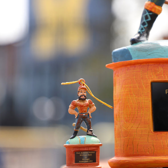 Paul Bunyan Mini Trophy - Michigan State