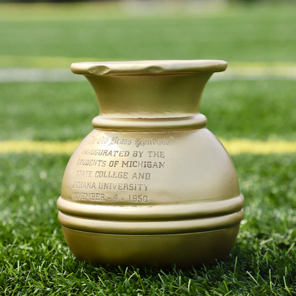 Old Brass Spittoon Trophy - Michigan State