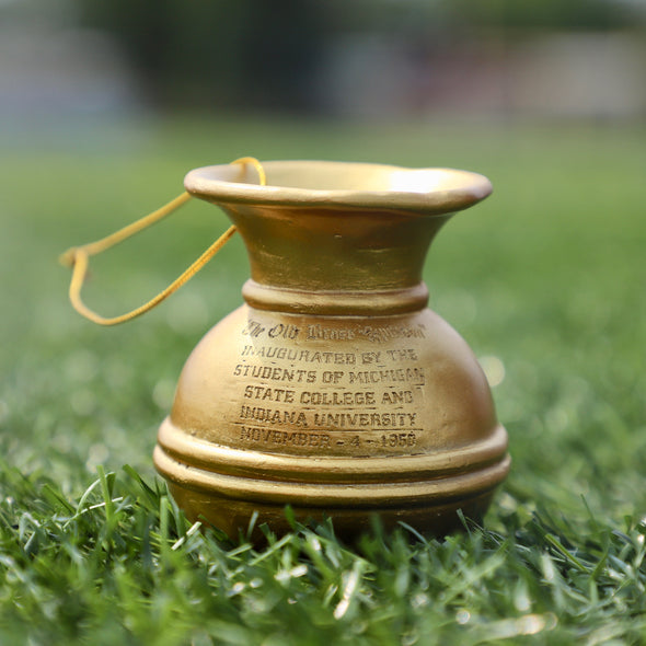Old Brass Spittoon Mini Trophy