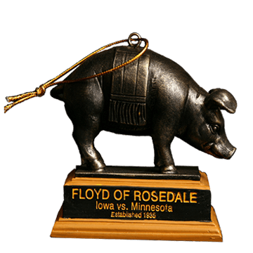 Floyd of Rosedale Mini Trophy - Iowa