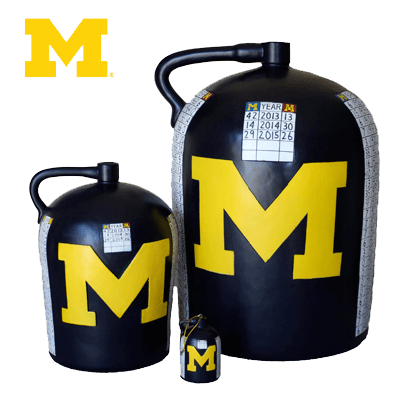 Little Brown Jug Actual Size - Minnesota