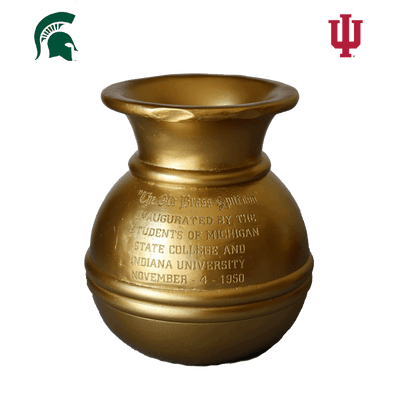 Old Brass Spittoon Trophy - Indiana