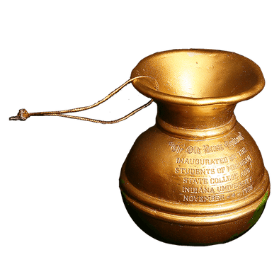 Old Brass Spittoon Mini Trophy - Indiana
