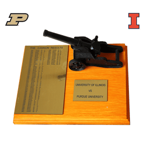 Purdue Cannon Trophy - Illinois