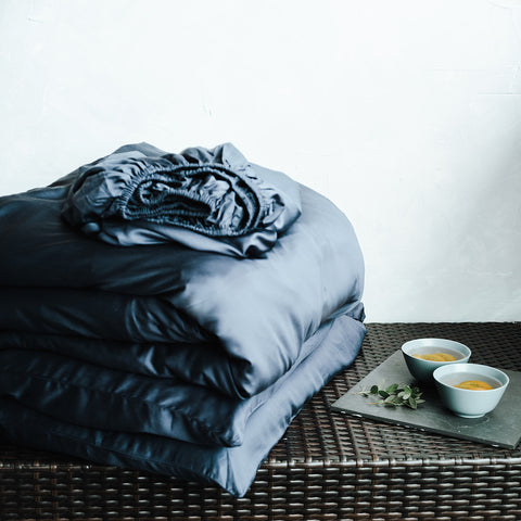 Bedding Set - Midnight Blue