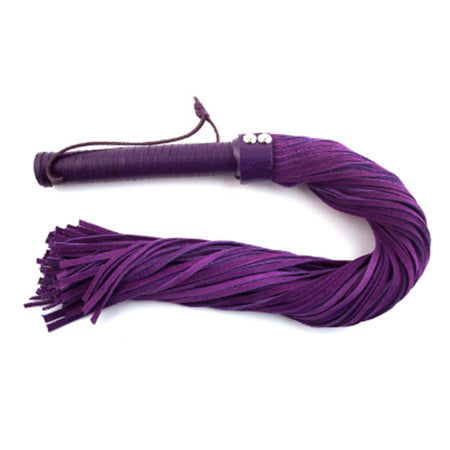 Rouge Suede Flogger Purple