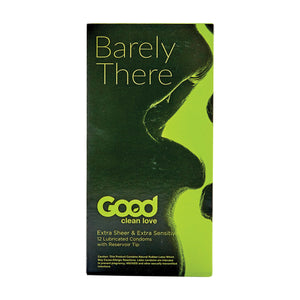 Good Clean Love Barely There Condoms 12pk