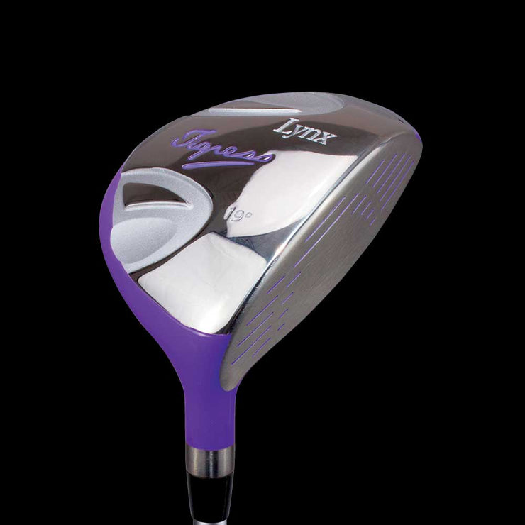Tigress Womens Fairway Wood | Purple Finish | Golf Club | Lynx Golf