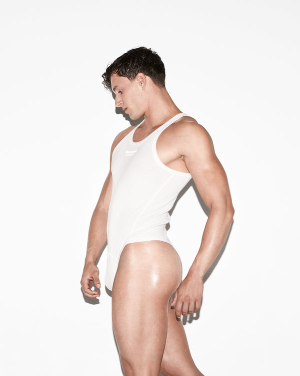 White Chad Bodysuit