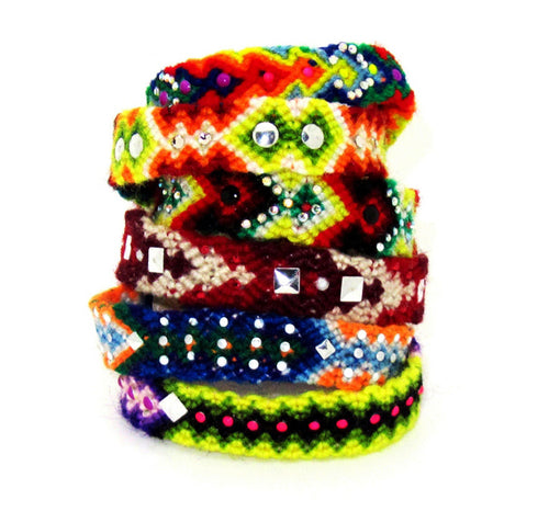 Peruvian Friendship Bracelets - 2 for $30 Special