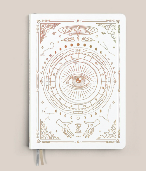 Magic of I. 2021 Astrological Planner - White