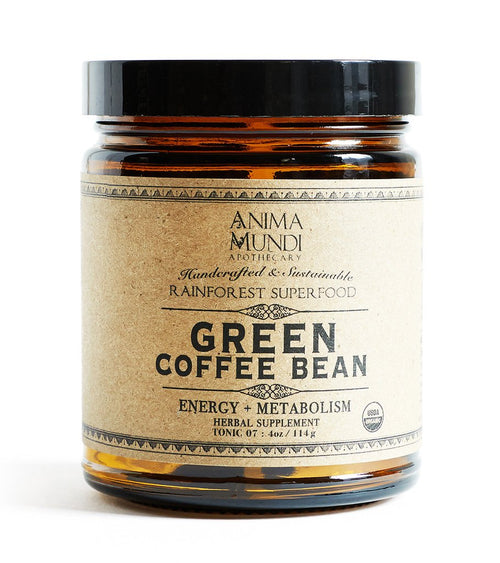 Anima Mundi Green Coffee Bean Powder - 4oz
