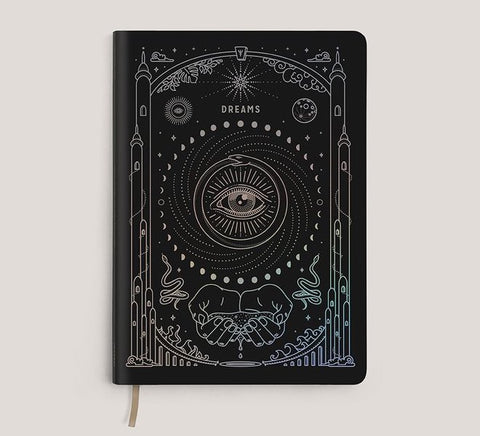 Magic of I. Vegan Leather Journal - Black