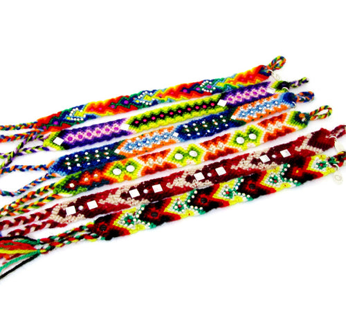 Peruvian Friendship Bracelets