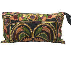 Hmong Hill Tribe Black Clutch