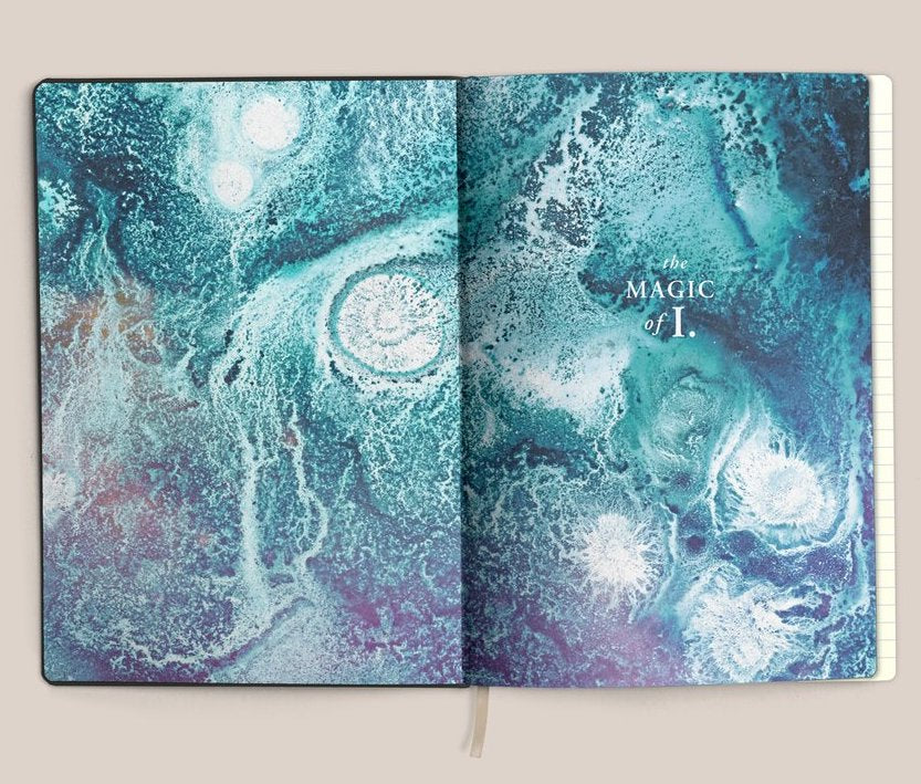 Magic of I. Vegan Leather Journal - Stone