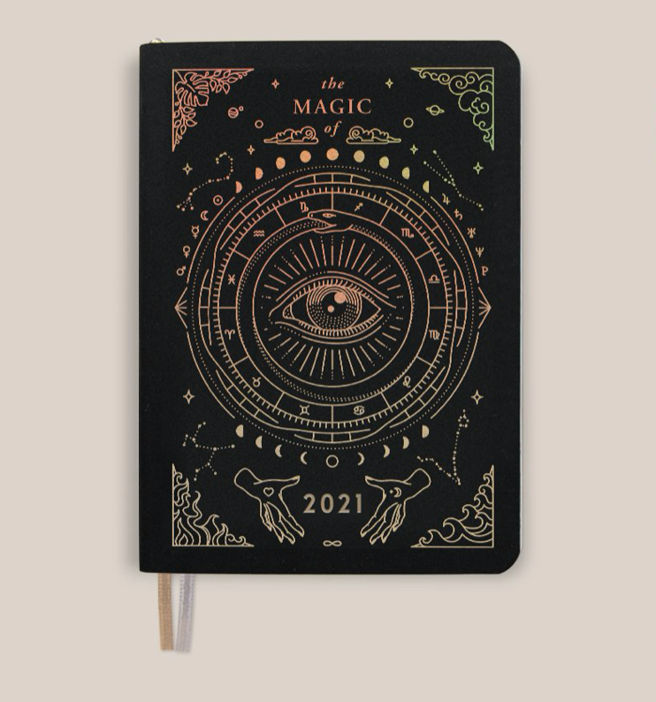 Magic of I. Pocket Planner 2021 - Black