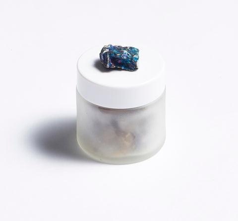 Crystal Quartz Resin Incense Jar