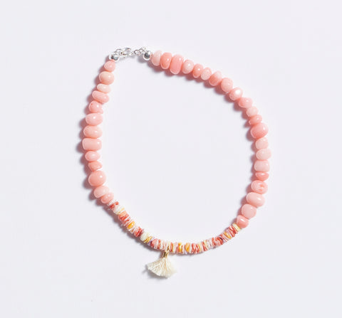 Shell Drop Anklet