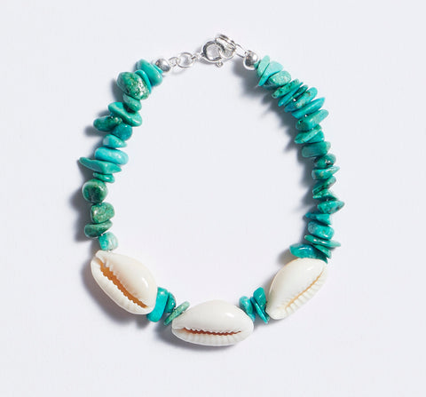 Aventurine and Clear Quartz Kids Necklace