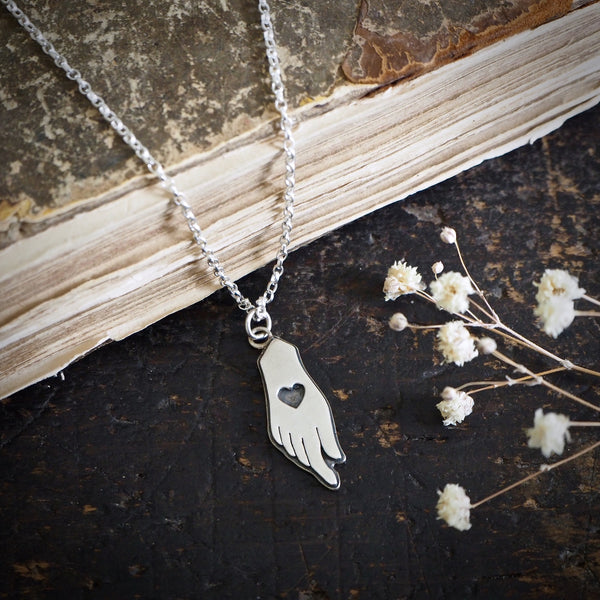 Hand of Venus, Goddess Necklace
