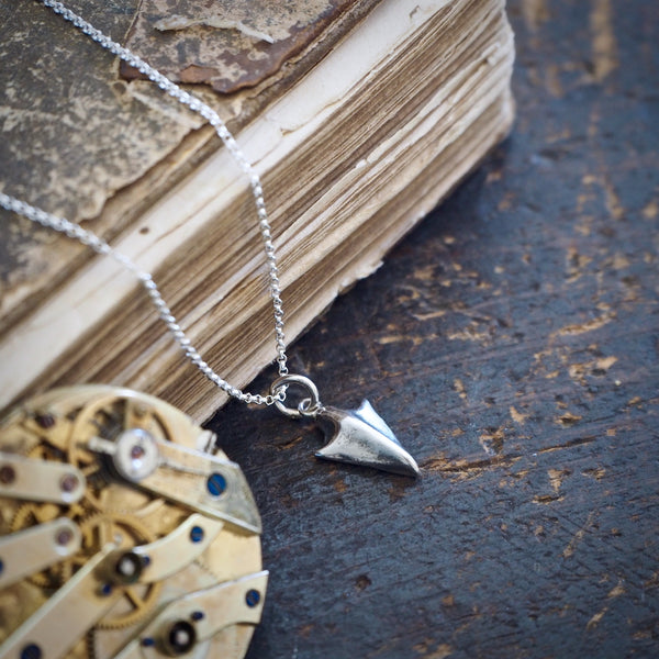 mini arrowhead pendant
