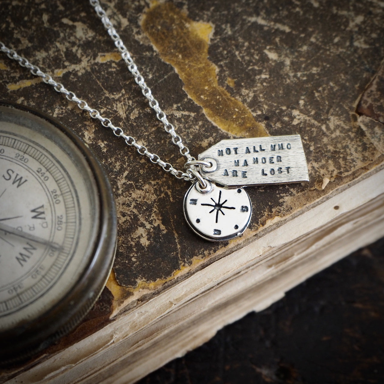 Wanderlust Charm Necklace