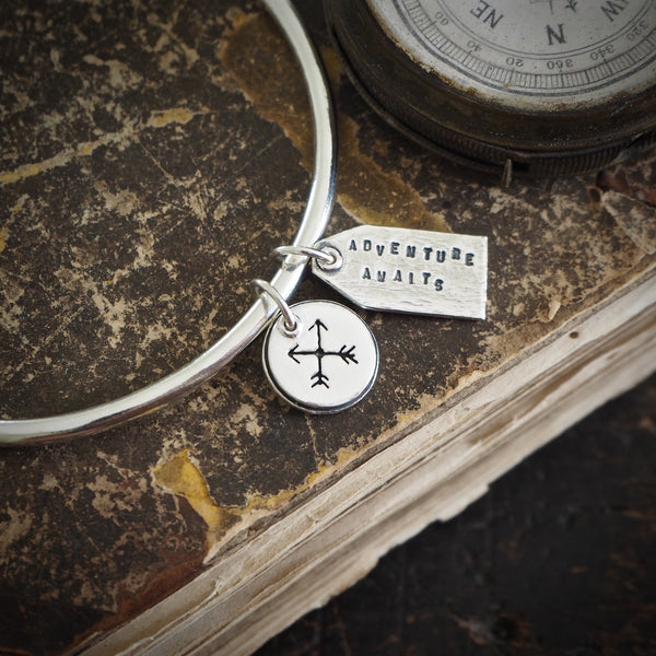 Adventure Awaits Charm Bangle