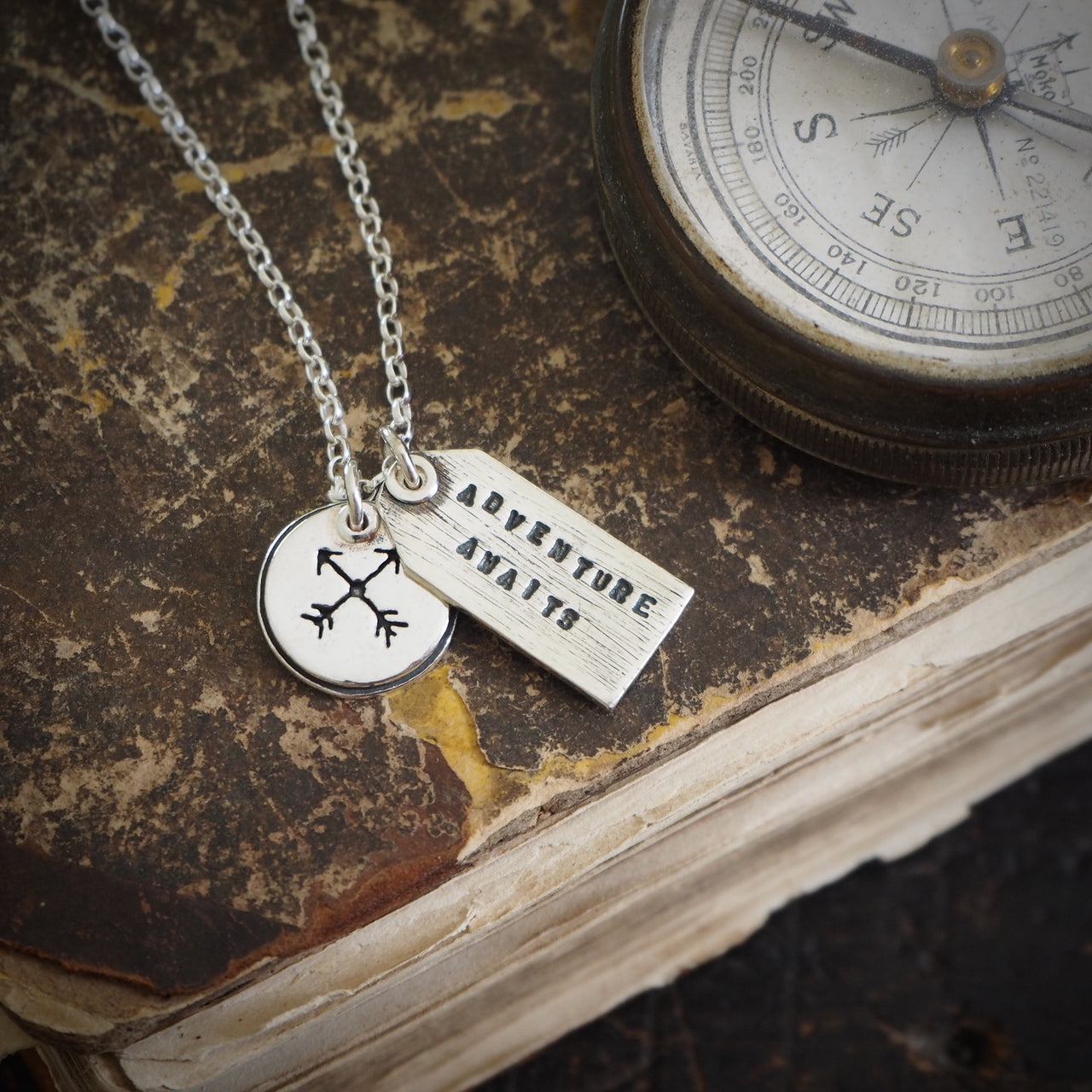 Adventure Awaits Charm Necklace