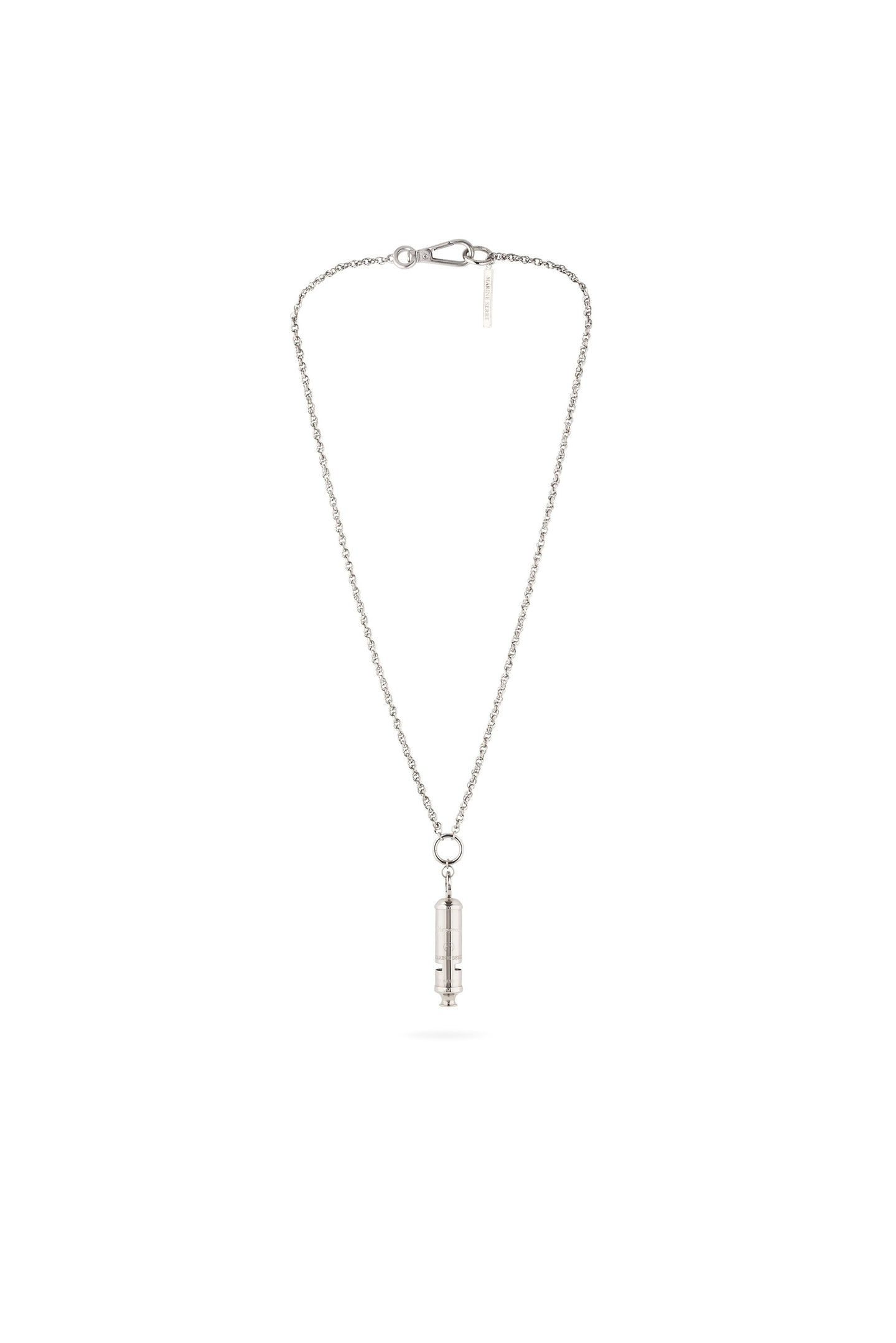 Branded Whistle Long Necklace