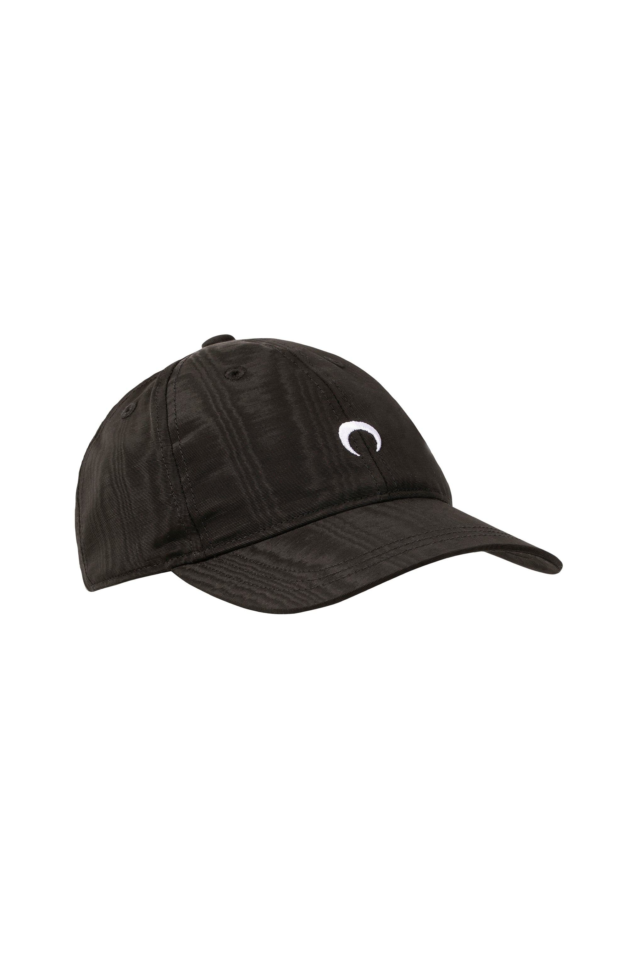 Moire Baseball Hat Black