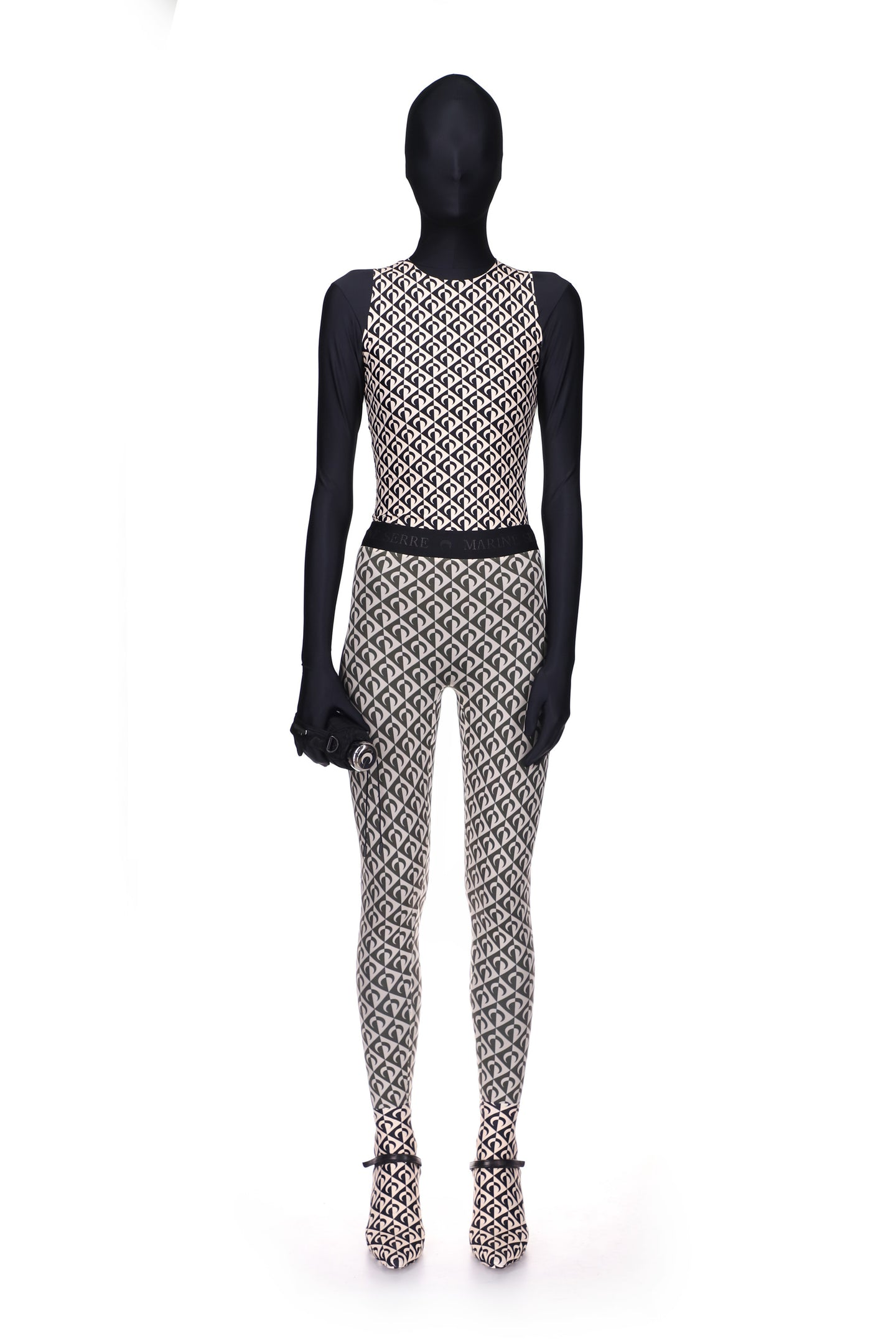 Moon Lozenge Fuseaux Leggings