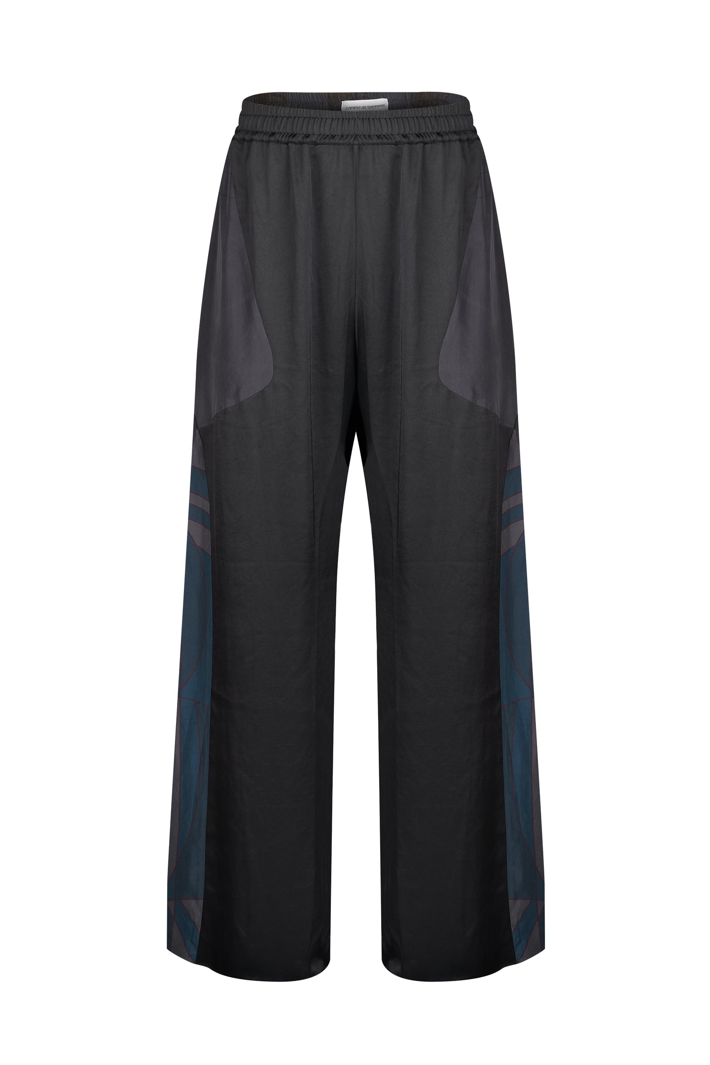 Silk Scarves Relaxed Pants