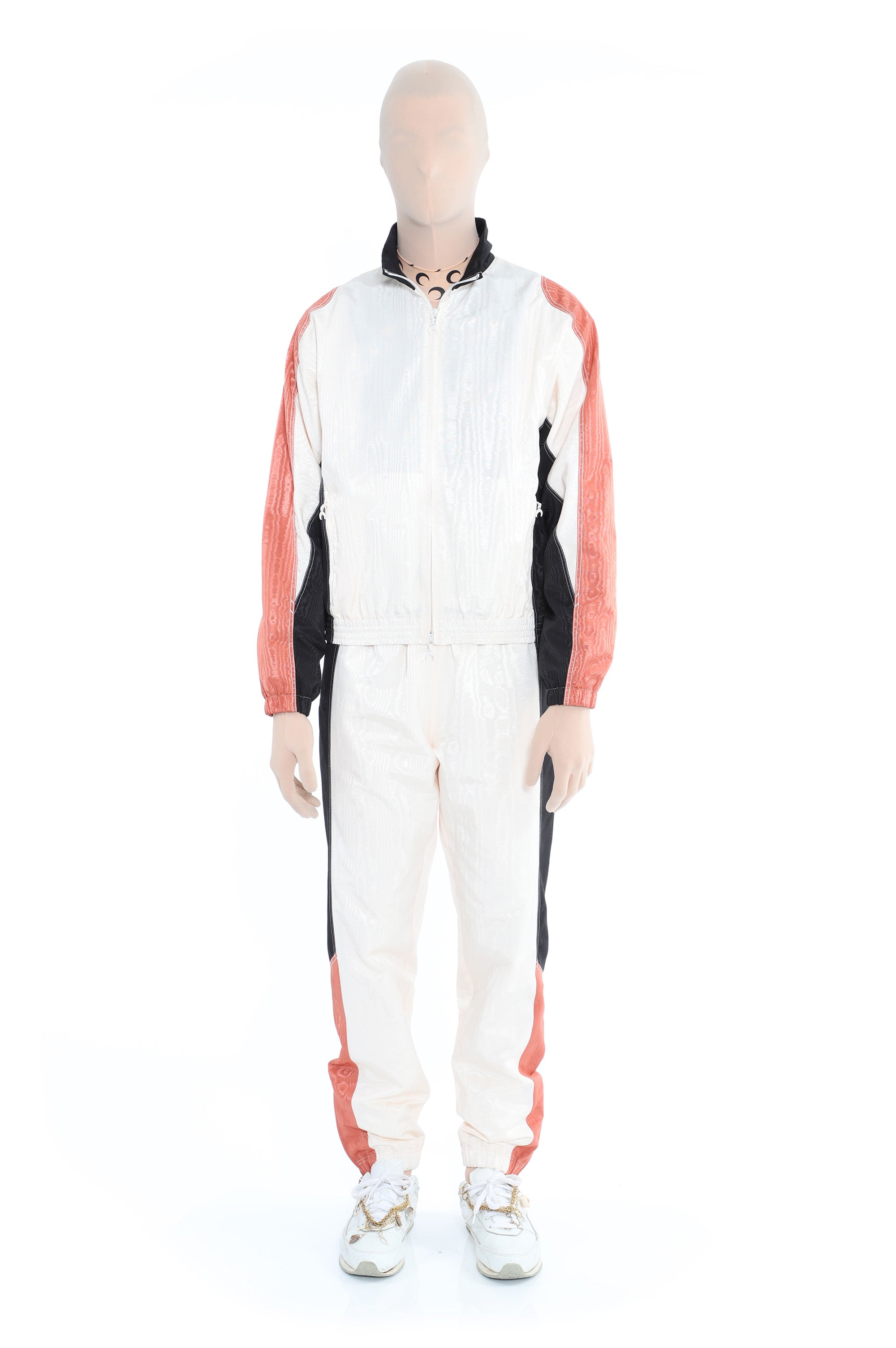 Moire Tracksuit Jacket