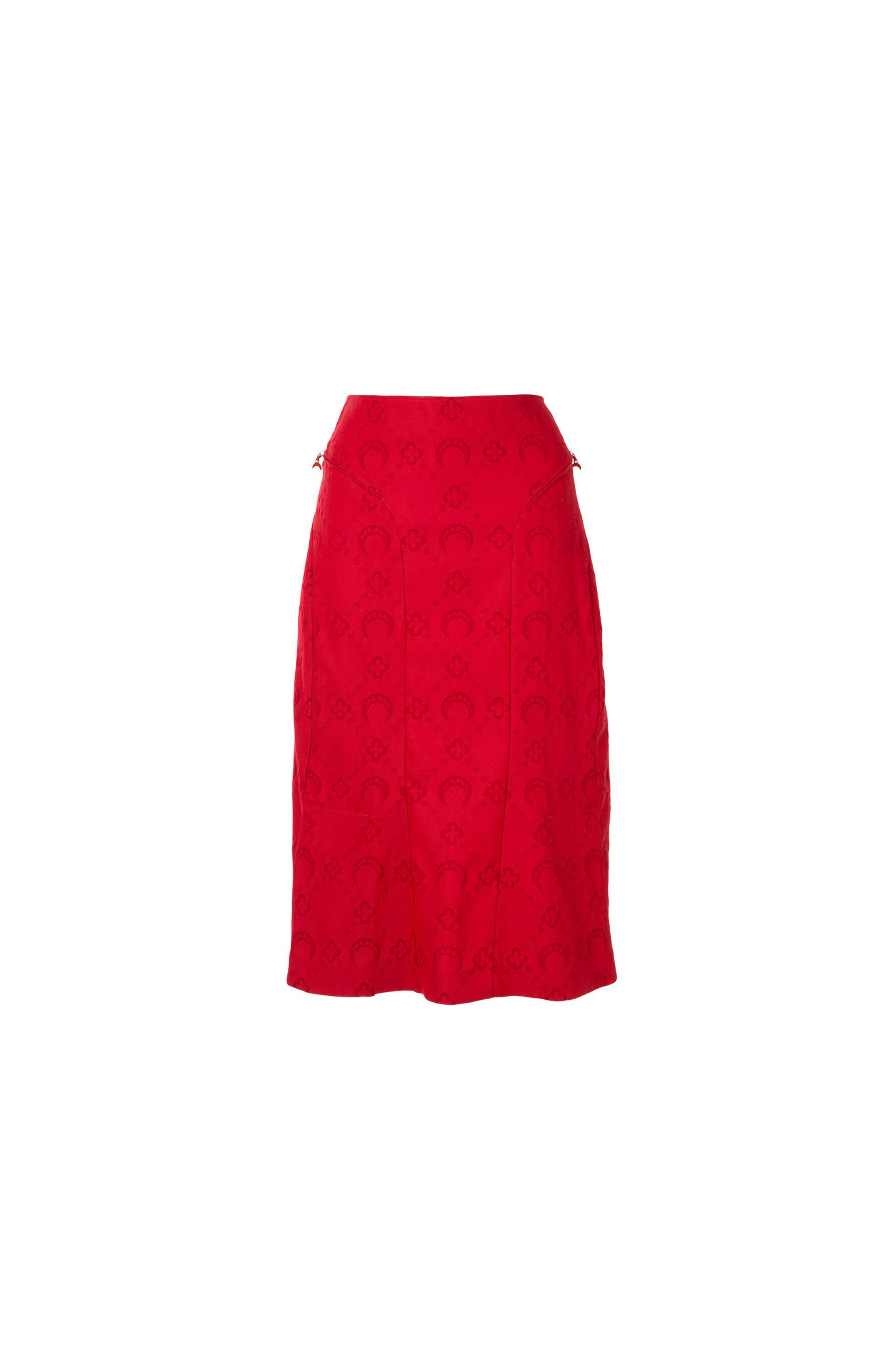 Tailored Flare Skirt