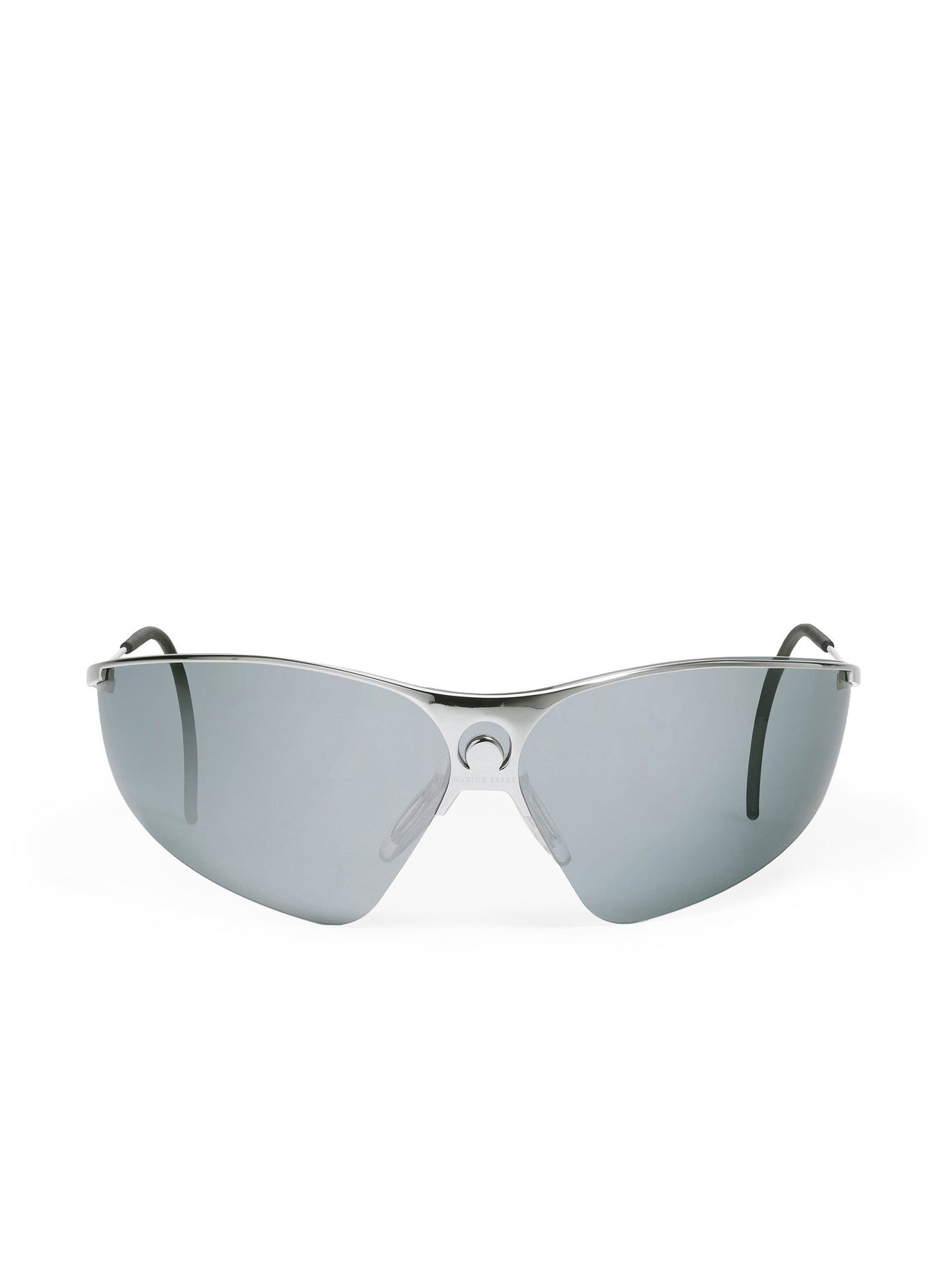 GM Metal Visor Tinted Glasses Silver
