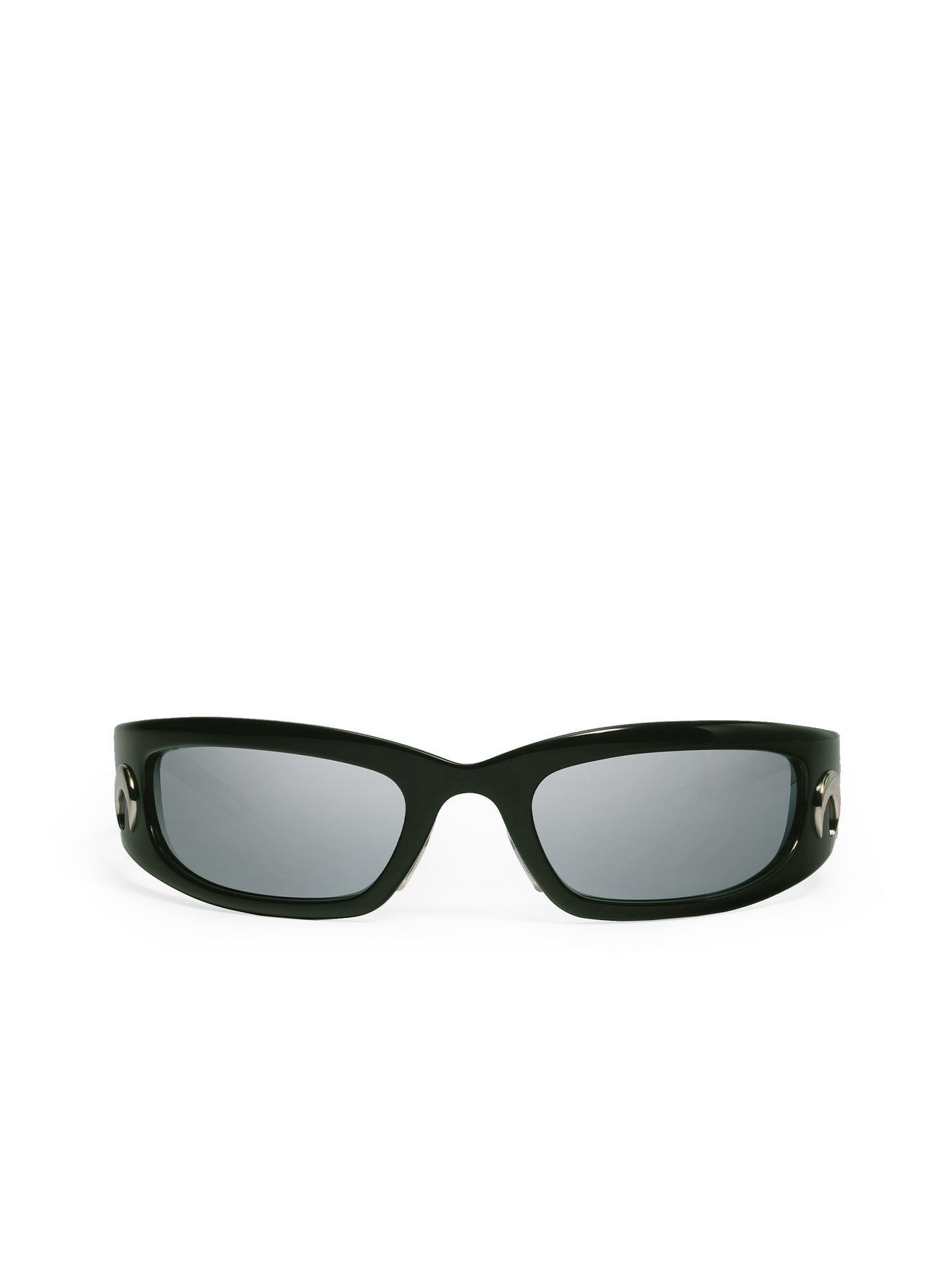 GM Curved Tinted Glasses Black