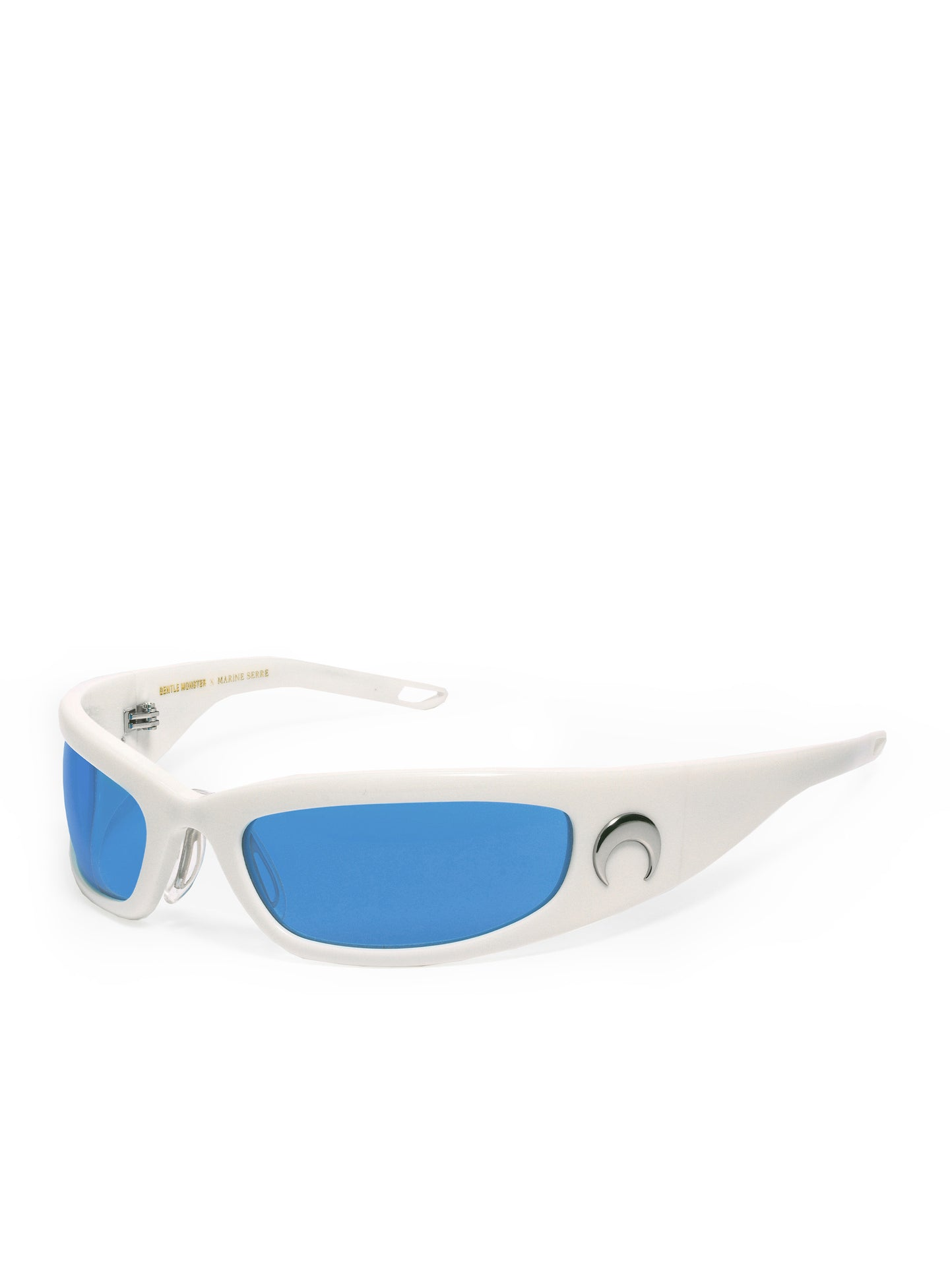 GM Curved Tinted Glasses Blue