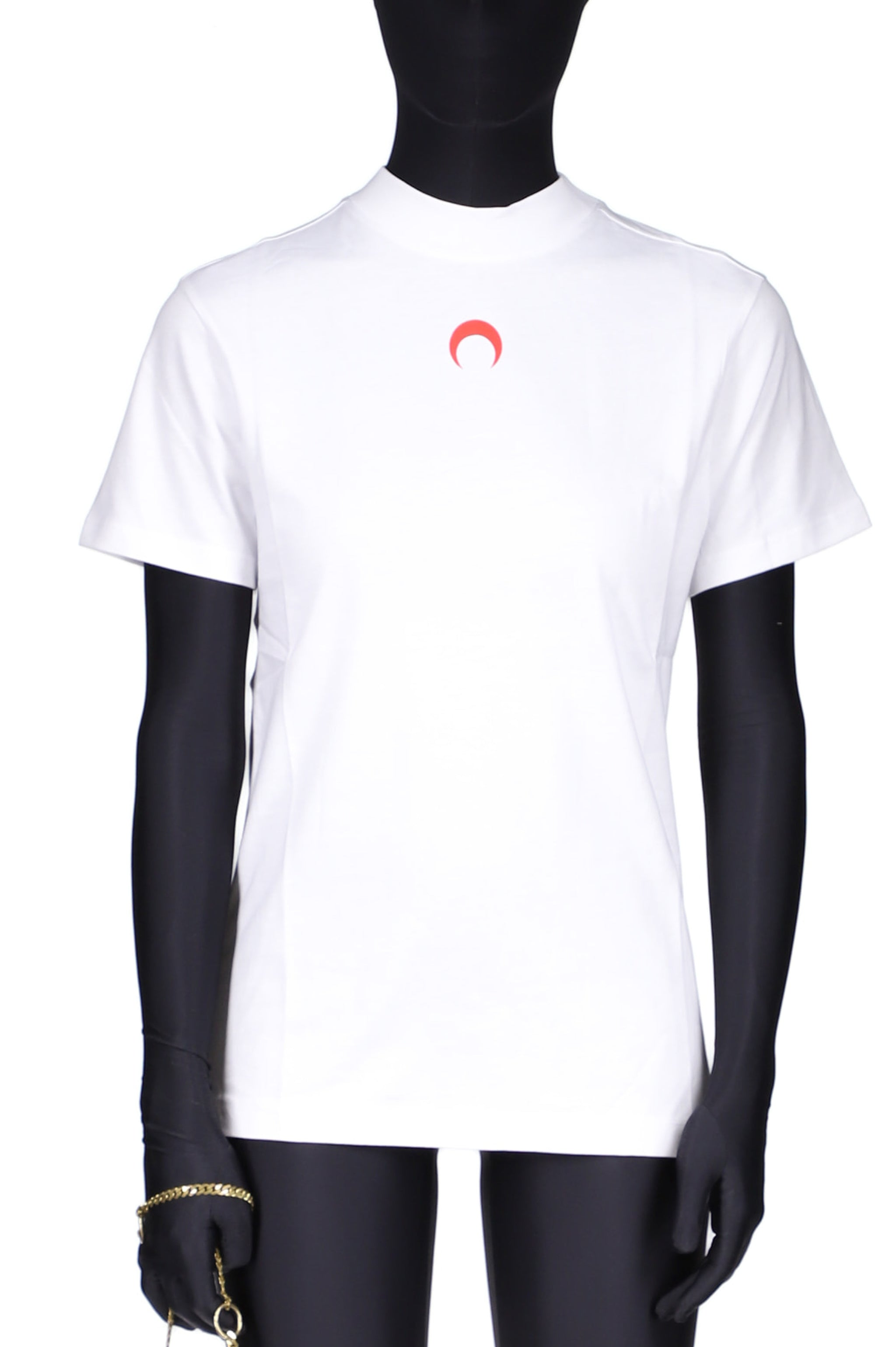 Large Fit T-shirt White/Red