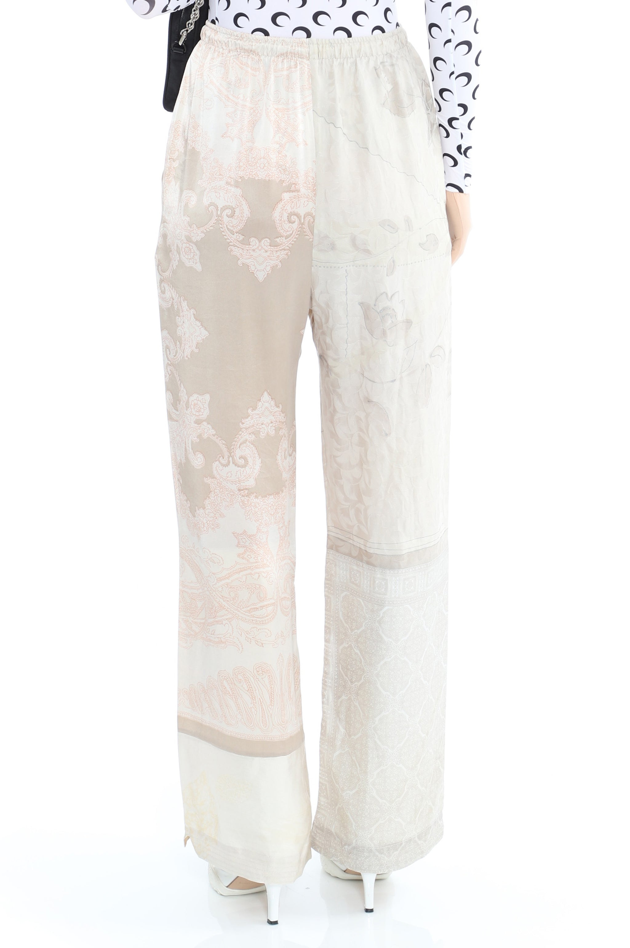 Regenerated Scarves Lounge Pants