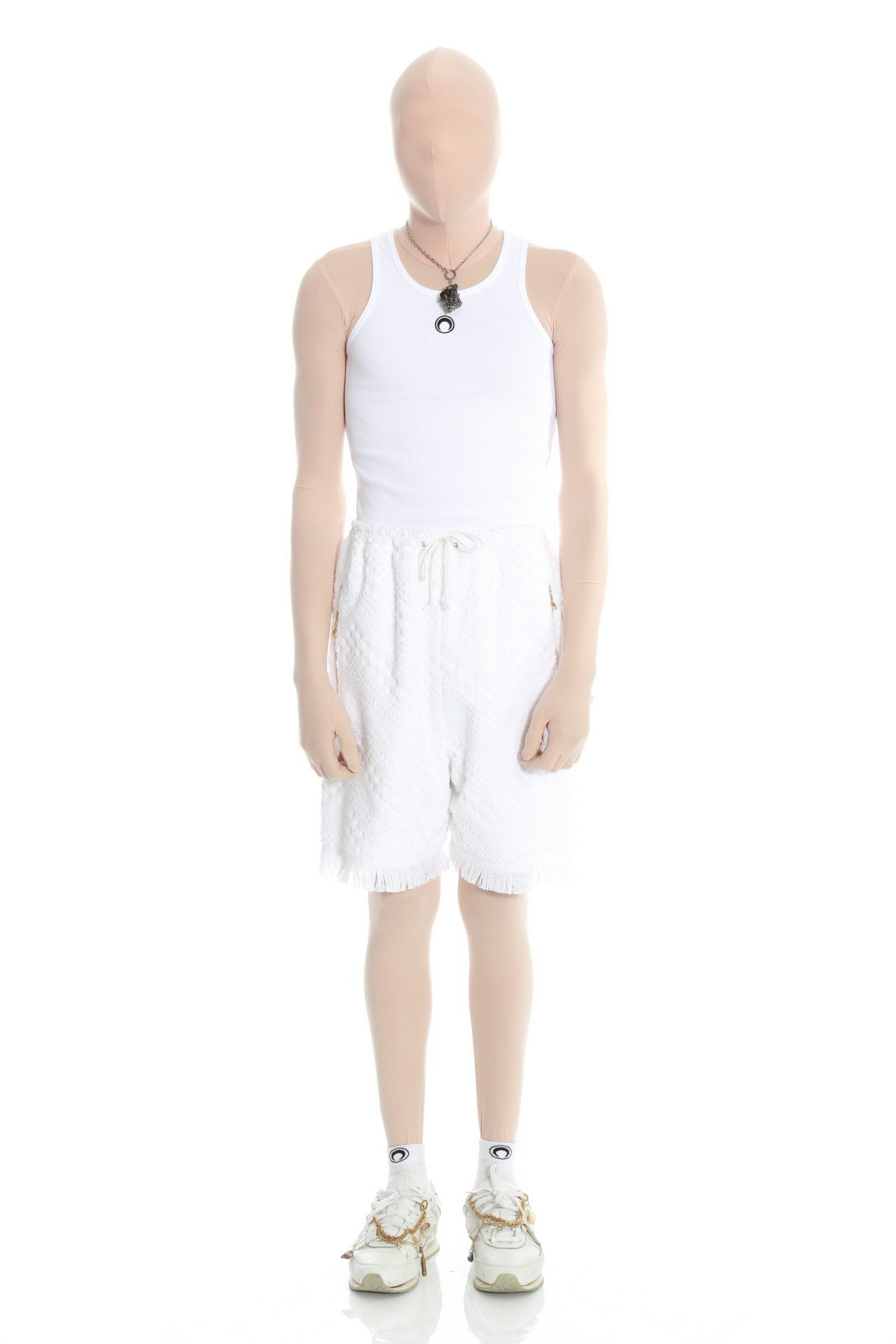 Regenerated Towel Shorts White